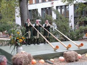 Außergewöhnliche Melodien mit dem Alphorn für besondere Ereignisse mit den Heimsheimer Alphornbläser